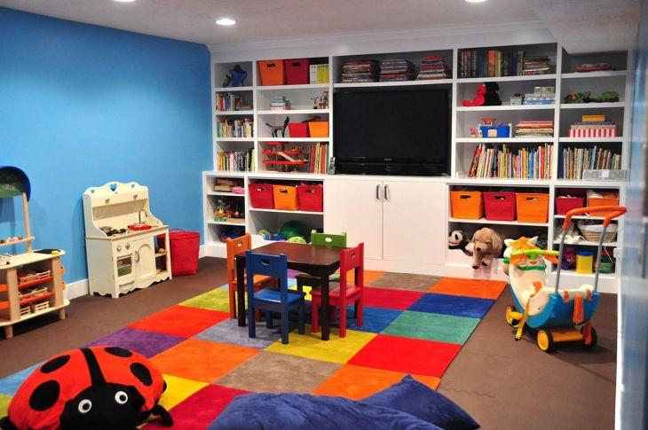 Kids Basement Playroom Ideas