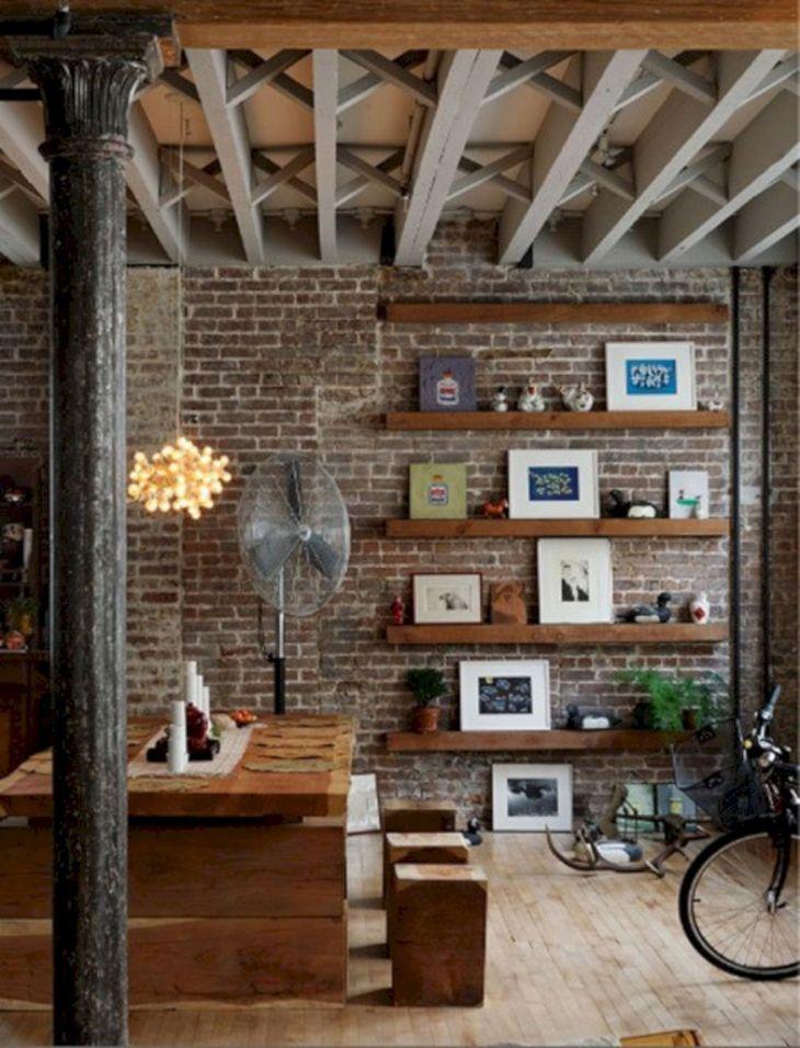 Loft Exposed Brick Wall