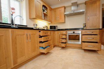 Oak Kitchen Cabinet