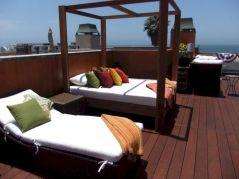 Outdoor Decks with Roof