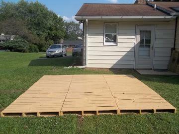 Pallet Decks and Patios