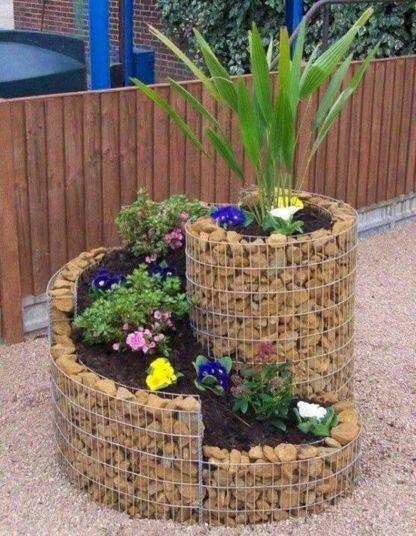 Planter Rock Garden Ideas