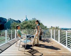 Rooftop Decks Living Spaces Ideas