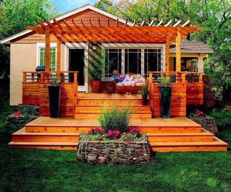 Small Backyard Deck Design Ideas