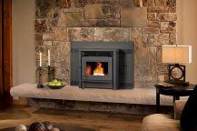 Stone Fireplace Design Idea