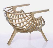 Unique Plywood Chair