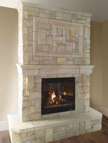 Veneer Stone Fireplace Mantels