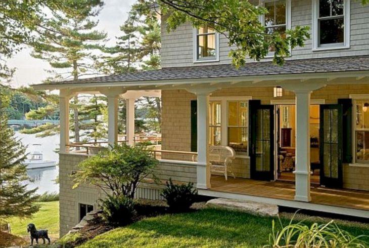 Wrap around Porch House Lake