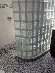 Bathroom Glass Block Shower Ideas 22