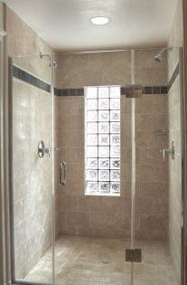 Bathroom Glass Block Shower Ideas 6