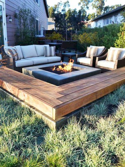 Best Backyard Firepit Ideas 112