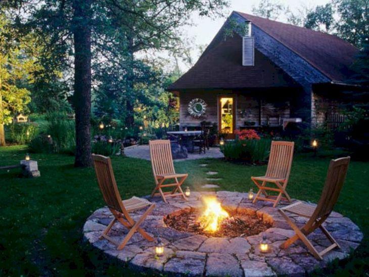 Best Backyard Firepit Ideas 114