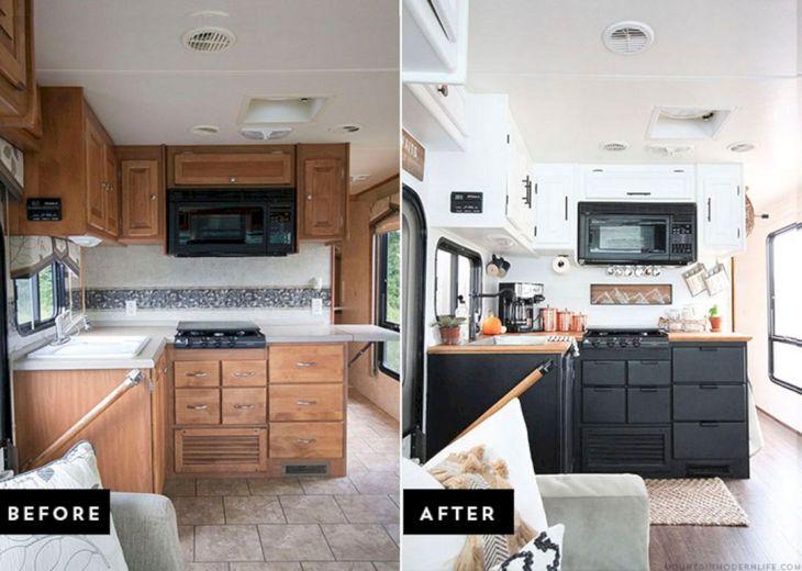 Best RV Renovations Ideas 3
