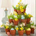 Easter Flower Arrangements As Your Table Decoration 113