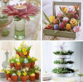 Easter Flower Arrangements As Your Table Decoration 116
