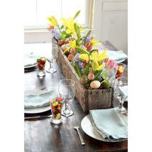 Easter Flower Arrangements As Your Table Decoration 117