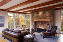 Farmhouse Living Room Fireplace 10