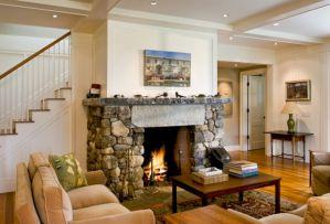 Farmhouse Living Room Fireplace 12