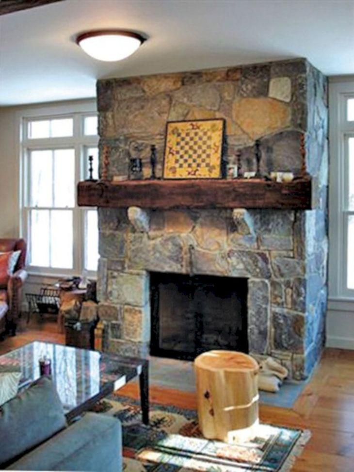 Farmhouse Living Room Fireplace 14