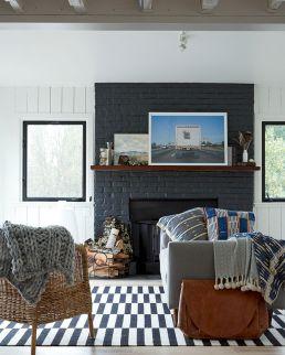 Farmhouse Living Room Fireplace 5