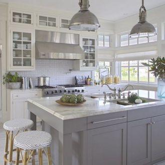 Gray Kitchen Ideas 21