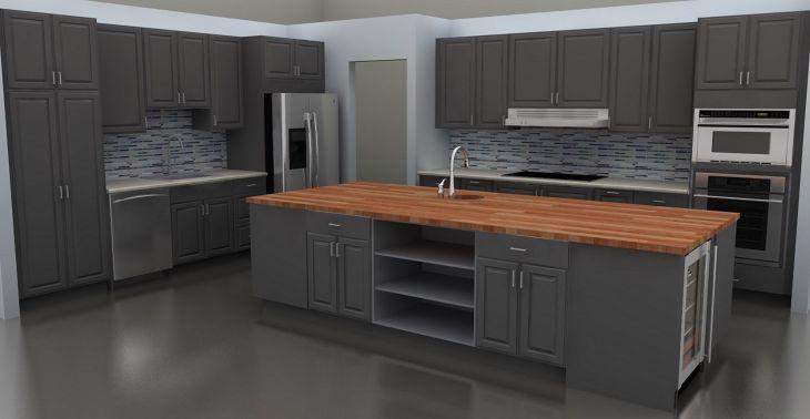 Gray Kitchen Ideas 221