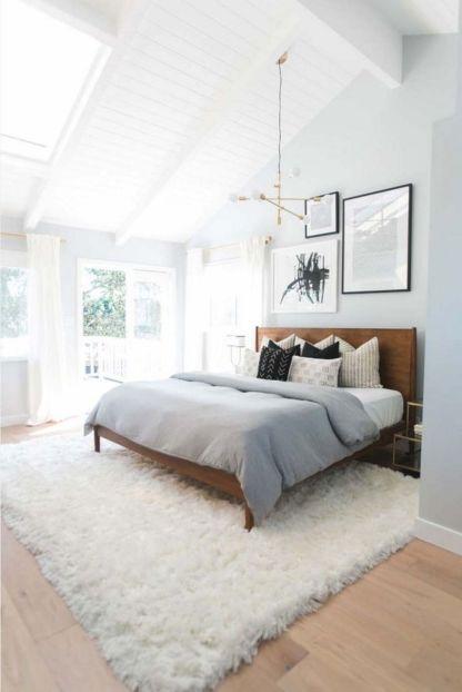 Modern Mid Century Bedroom Decor Ideas 23