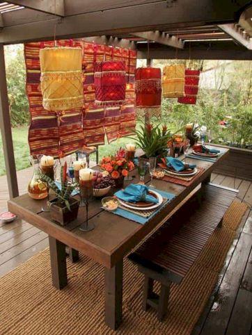 Moroccan Balcony Design Ideas 11