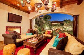 Moroccan Balcony Design Ideas 17
