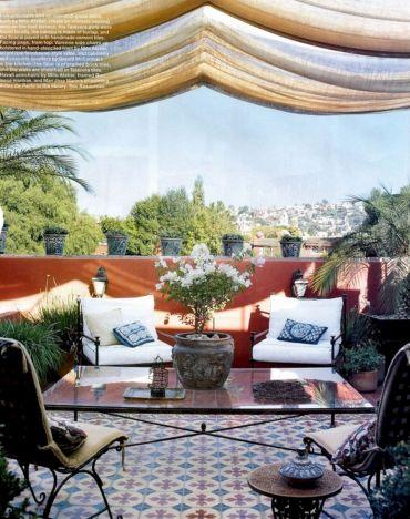 Moroccan Balcony Design Ideas 22