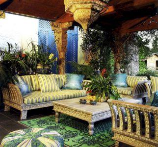 Moroccan Balcony Design Ideas 8