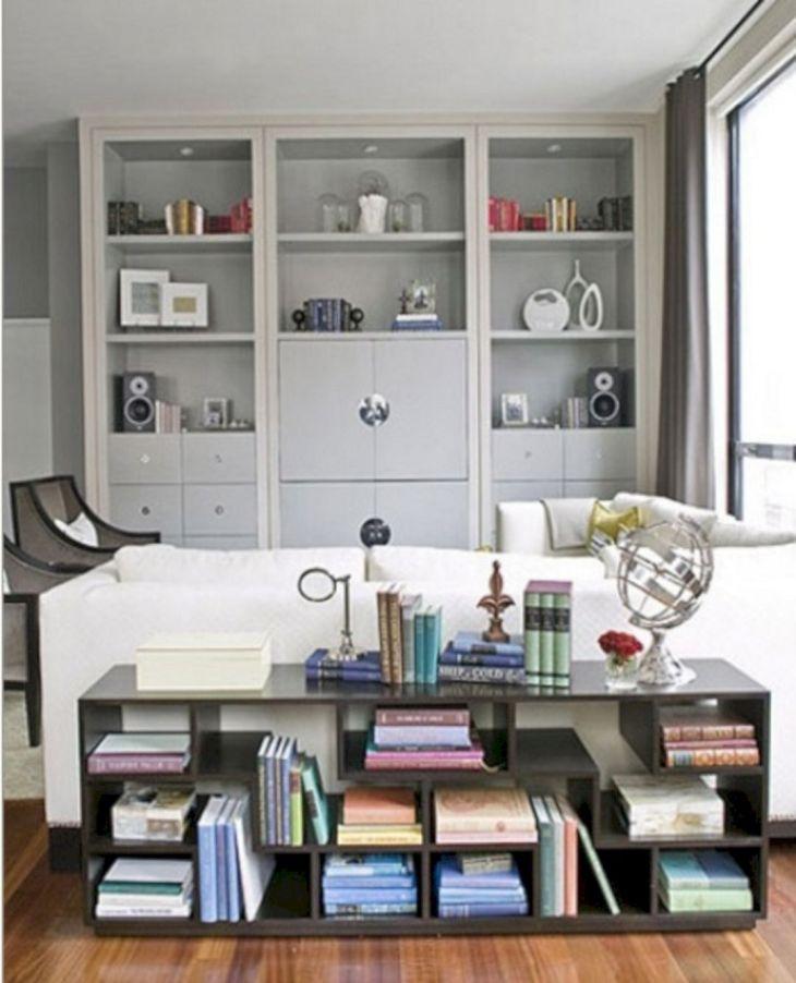 Simple Living Shelving Ideas 16