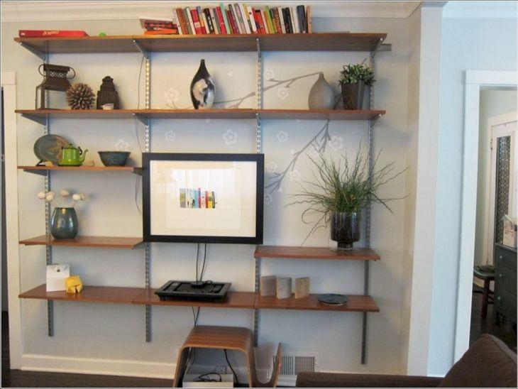 Simple Living Shelving Ideas 5