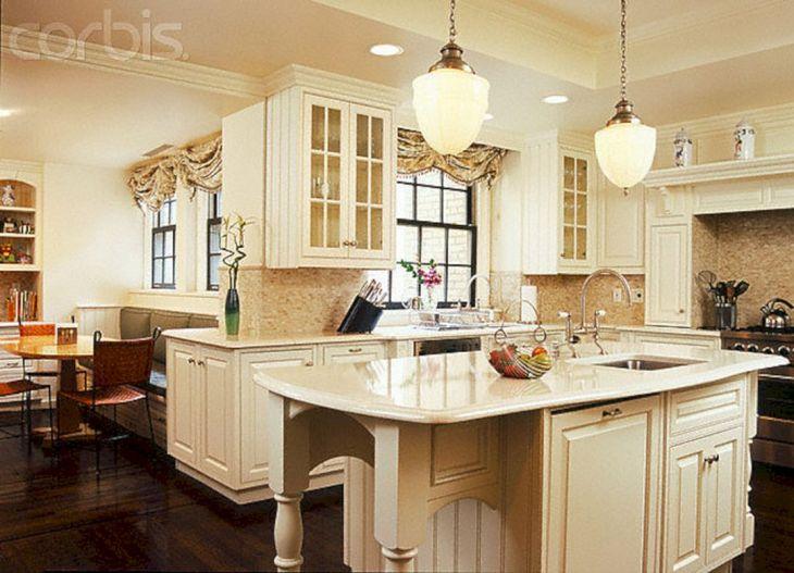 Classic White Kitchen Cabinets 10