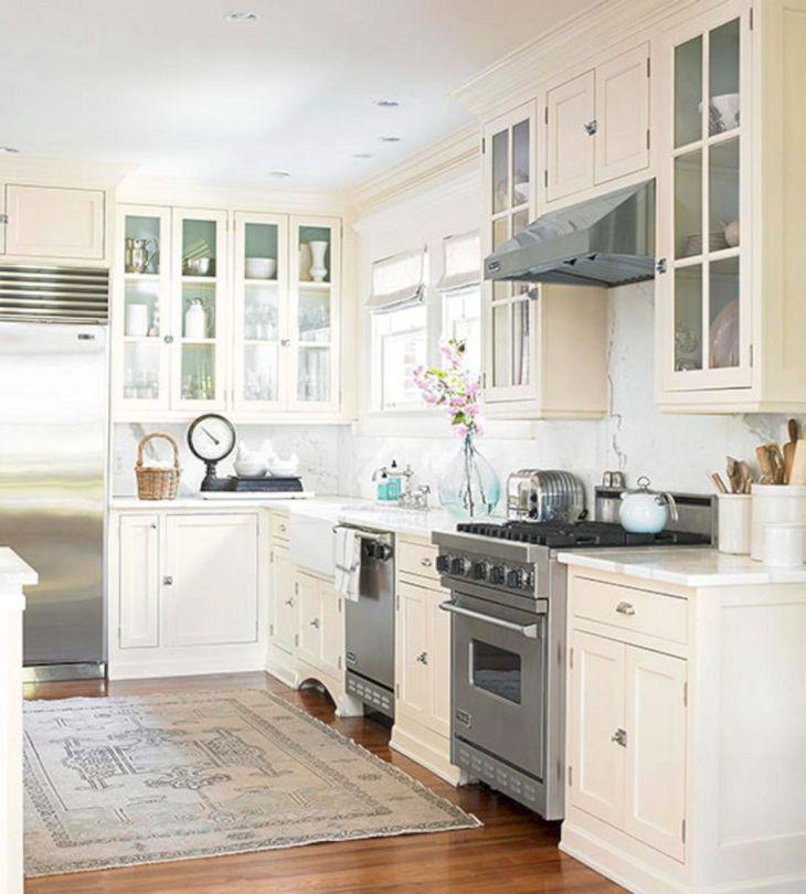 Classic White Kitchen Cabinets 6