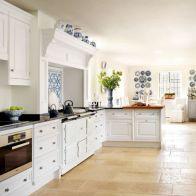 Classic White Kitchen Cabinets 9