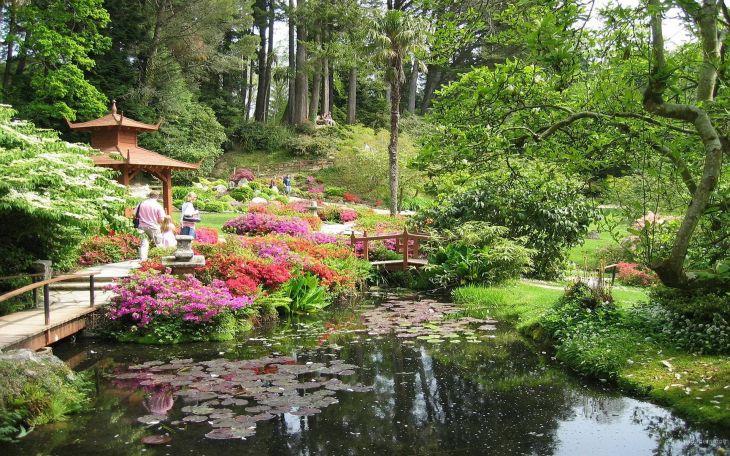 Japanese Flower Gardens Ideas 10