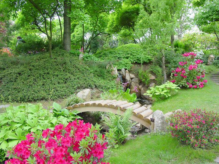 Japanese Flower Gardens Ideas 13