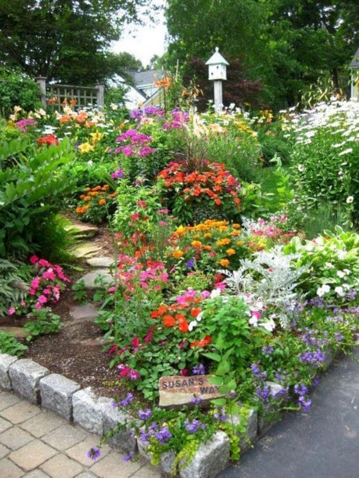Best 20 Beautiful Japanese Flower Gardens Ideas That You