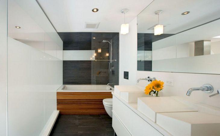 Modern Bath Shower Combination 15