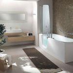 Modern Bath Shower Combination 19