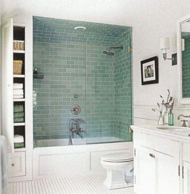 Modern Bath Shower Combination 24