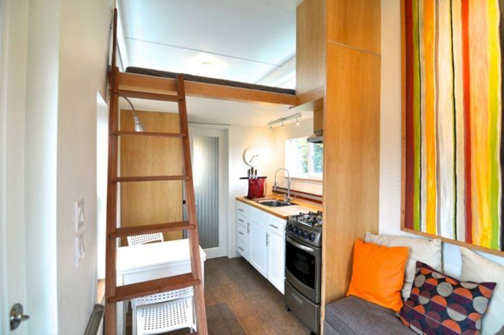 Modern Tiny House Interior 14