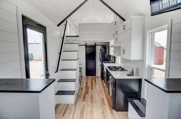Modern Tiny House Interior 19