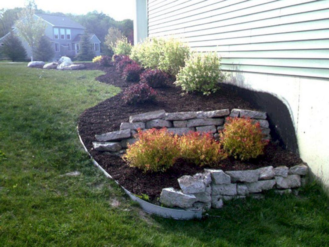 side house landscaping ideas with rocks 4 decoredo. Black Bedroom Furniture Sets. Home Design Ideas