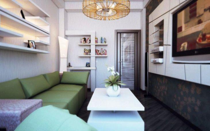 Tiny Houses Living Room Design 219