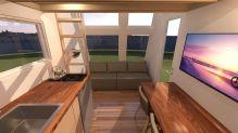 Tiny Houses Living Room Design 225