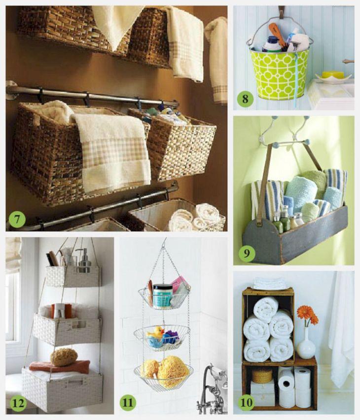 Creative Shelving Ideas for Small Bathrooms 22