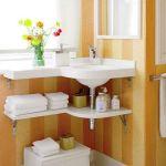 Creative Shelving Ideas for Small Bathrooms 23