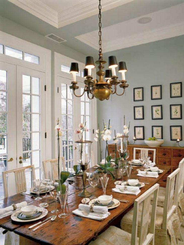 Farmhouse Dining Room Ideas 18